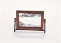 Obrazek W-020: Obrazek piaskowy oprawiony w ramę drewnianą (10x14 cm)