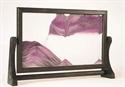 Obrazek W-024: Obrazek piaskowy oprawiony w ramę drewnianą (24x37 cm)