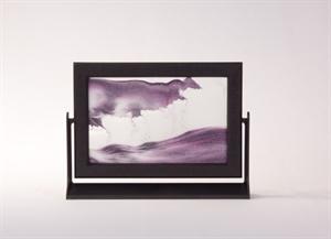 Obrazek P-013: Obrazek piaskowy oprawiony w ramkę plastikową (15x21 cm)