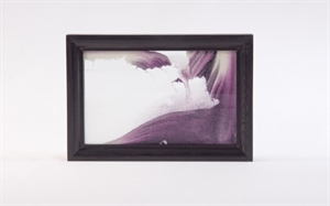 Obrazek W-025: Obrazek piaskowy oprawiony w ramę drewnianą (15x21 cm)