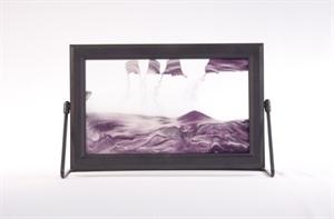 Obrazek P-015: Obrazek piaskowy oprawiony w ramkę plastikową (19x30 cm)