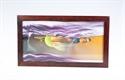 Obrazek WW-012: Wiszący obraz piaskowy w ramie drewnianej z tłem (31x53 cm)
